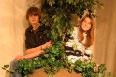 2010 Emma auf dem Ahornbaum